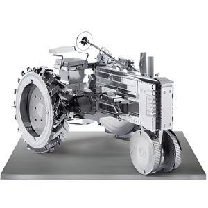 VOITURE À CONSTRUIRE Tracteur ancien - Maquette en métal
