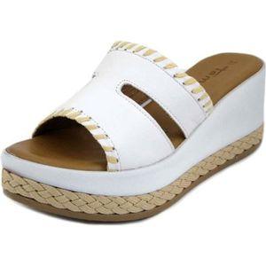 Femmes D/écontract/ée Coin /Ét/é Glisser sur Talon Haut Chaussons Plateforme Chaussures Bout Ouvert Sandales Pantoufles BaZhaHei Mules Femme Compensee Plateforme Ete