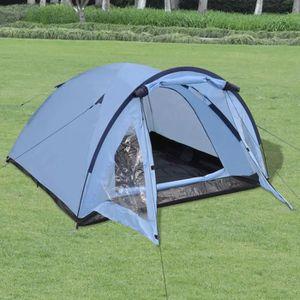 TENTE DE CAMPING Tente pour 3 personnes Bleu