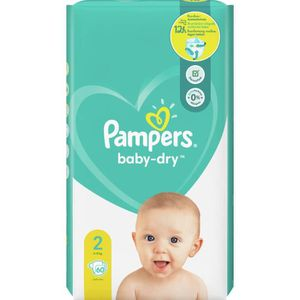 COUCHE Pampers Baby-Dry Taille2, 60Couches