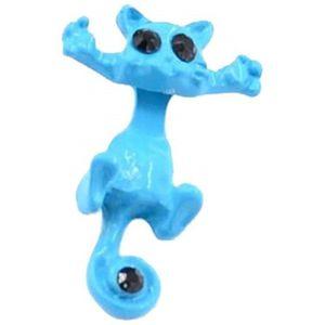 BELLE ETOILE Lucky Frog Turquoise Boucles D/'oreilles Neuf avec étiquettes