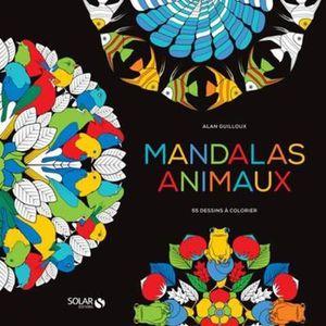 LIVRE DE COLORIAGE Livre - black coloriage ; mandalas animaux