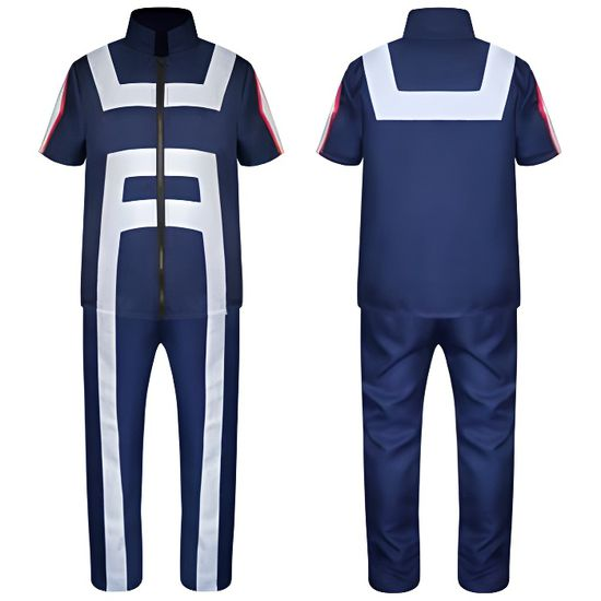 Mon héros Academia 3 izuku midoriya Cosplay Costume deku Bataille Tenue Costume