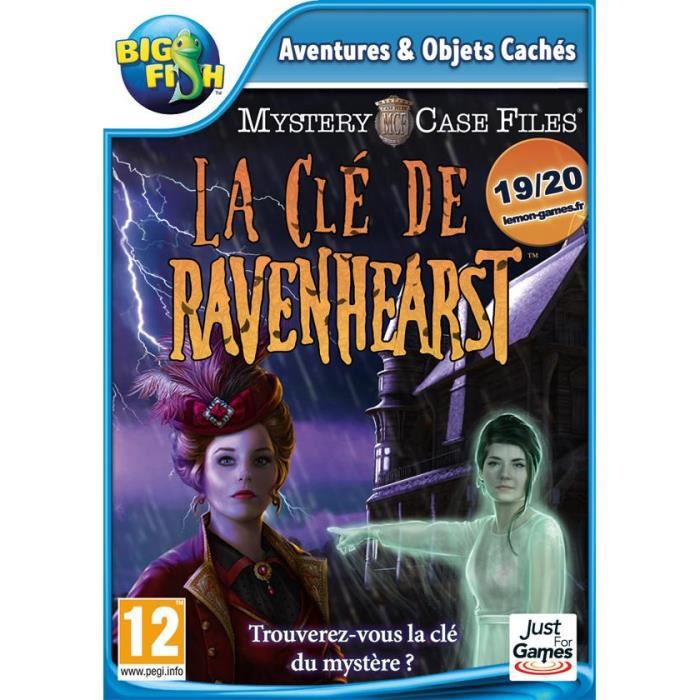 Mystery Case Files La Clé de Ravenhearst Jeu PC