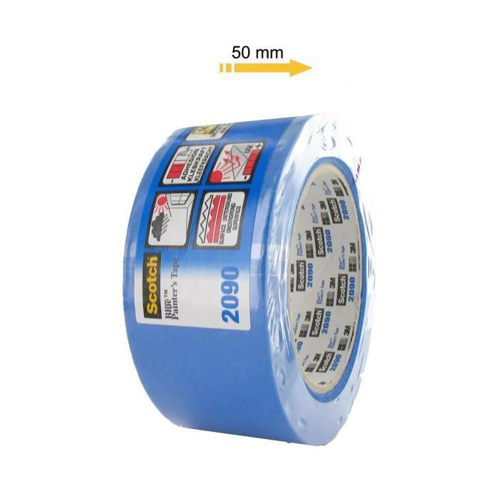 3M Ruban adhésif Bleutape 2090 Pro pour Impression 3D Bleu