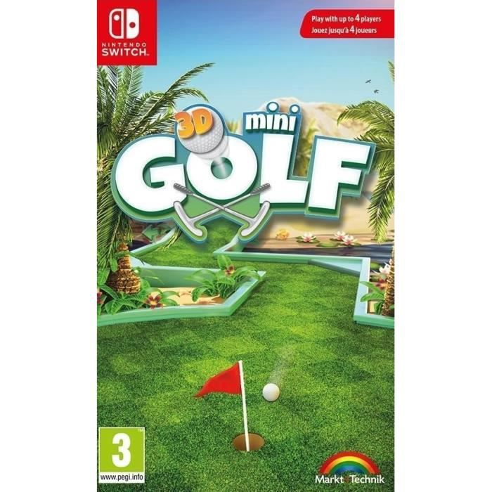 3d minigolf jeu switch achat vente nintendo switch 3d minigolf jeu switch cdiscount. Black Bedroom Furniture Sets. Home Design Ideas