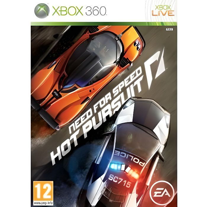 JEUX XBOX 360 Need for Speed Hot Pursuit Jeu XBOX 360