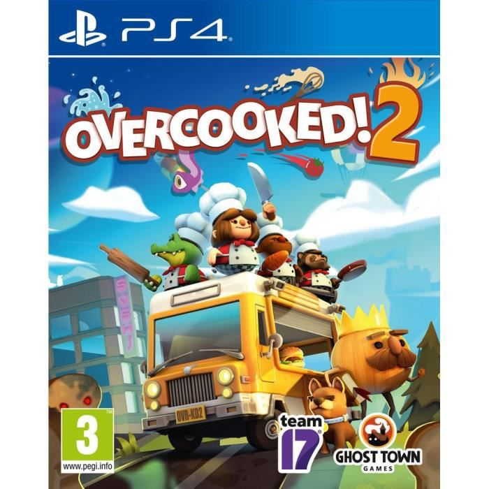 Overcooked 2 Jeu PS4