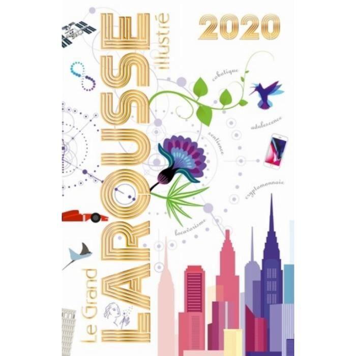LIVRE JEUX ACTIVITÉS Le grand Larousse illustré. Edition 2020