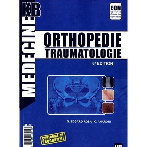 KB ORTHOPEDIE TRAUMATOLOGIE