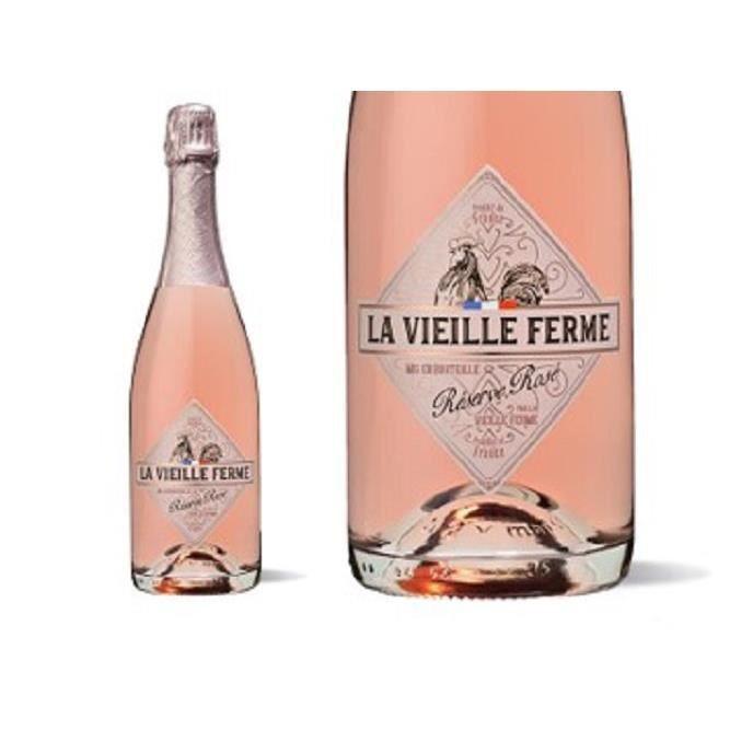 LA VIEILLE FERME ROSE SPARKLING 75cl