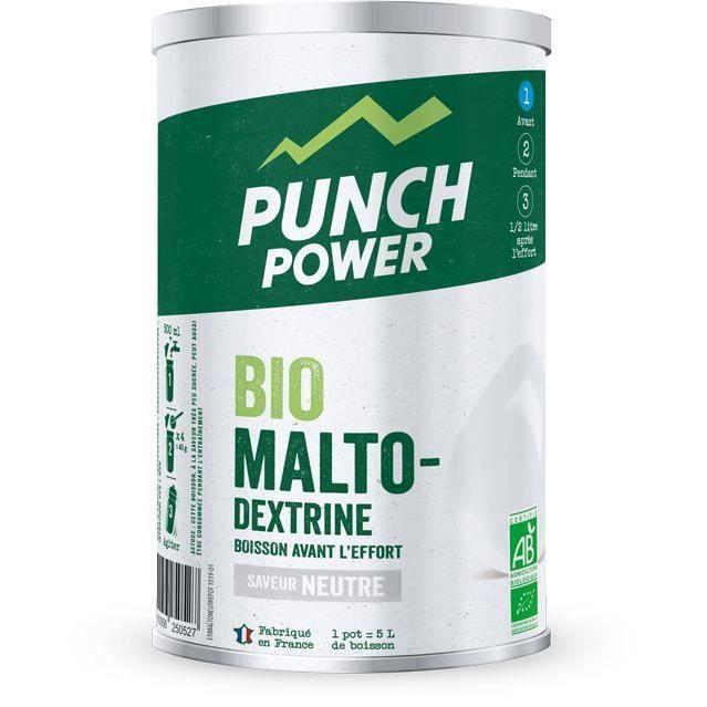 PUNCH POWER BIOMALTODEXTRINE NEUTRE ANTIOXYDANT - POT 500 G