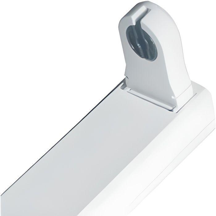 Réglette/Boitier Tube LED T8 - Simple - 1200mm - Non Etanche