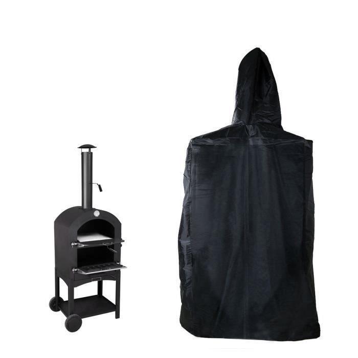 Housse Barbecue BBQ Protection Étanche Four à Pizza BBQ Extérieure Couverture Pluie Antipoussière My11505 Ma58510