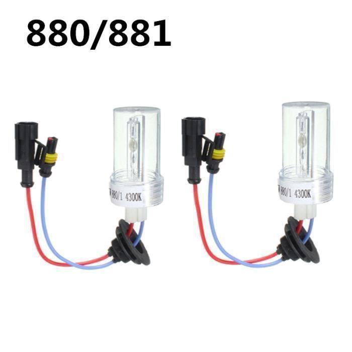 LED Ampoules 880-881 - 100W - Ampoule Paire 6000K 75W - 100W Xenon HID Conversion Ampoule H1 H3 H4-2 H7 H11 9005 9006 880 881 D2@ht