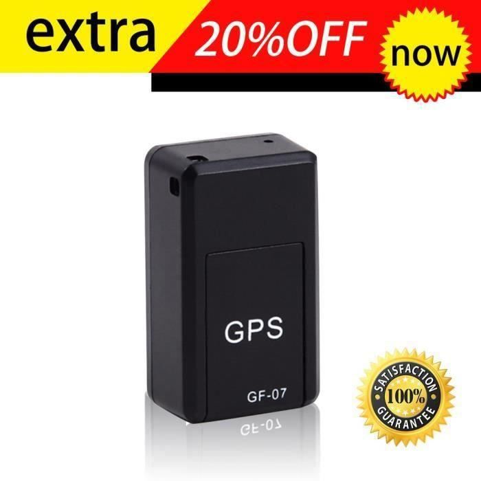 Mini tracker magnétique GPS Dispositif de localisation de suivi en temps réel Magnétique