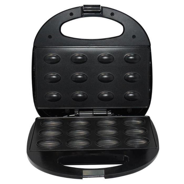 R1032 Ménage électrique noyer gâteau fabricant Sandwich petit déjeuner Machine Sandwich fer grille pain cuisson petit déjeuner cas