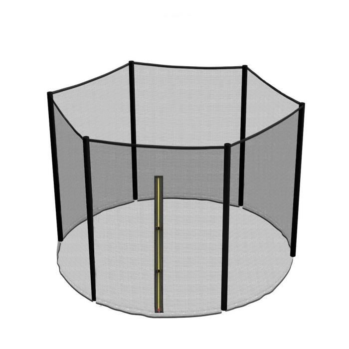 Green Bay Filet de Sécurité pour Trampoline 6 Poteaux Ø305cm