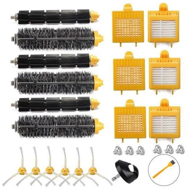Kit filtre HEPA et brosse pour aspirateur iRobot Roomba, pièces détachées séries 700, 720, 750, 760, 765, 770, 772, AK25526603