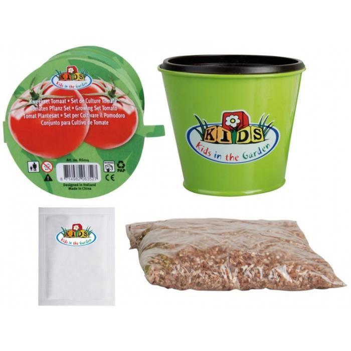Kit plantation dès 6 ans - Tomates - Kit complet