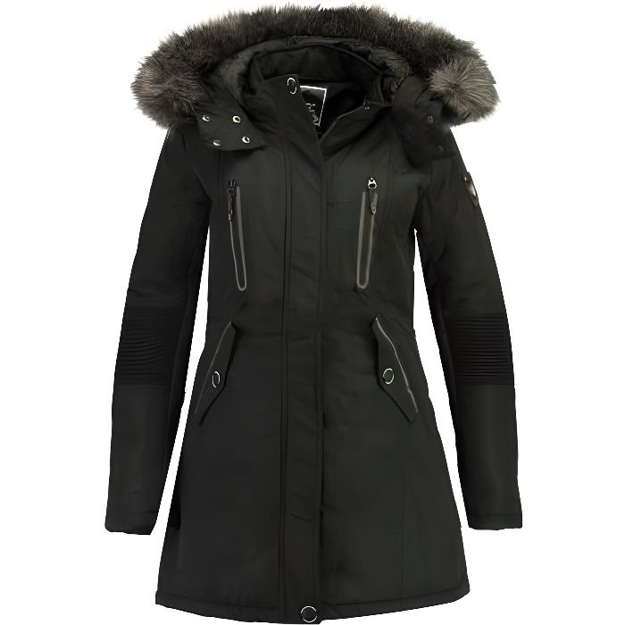 Parka Femme Geographical Norway Coraly Noir