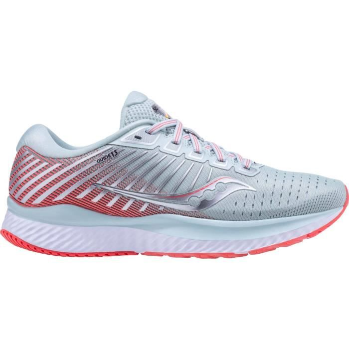 Saucony Guide 13 Femmes Chaussures running gris