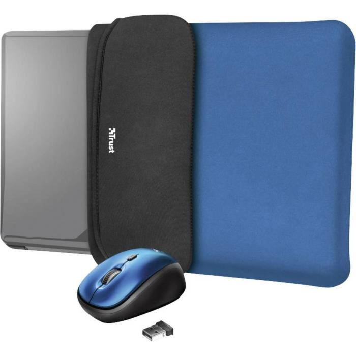 Souris Wi-Fi Trust YVO 23452 optique bleu 1 pc(s)