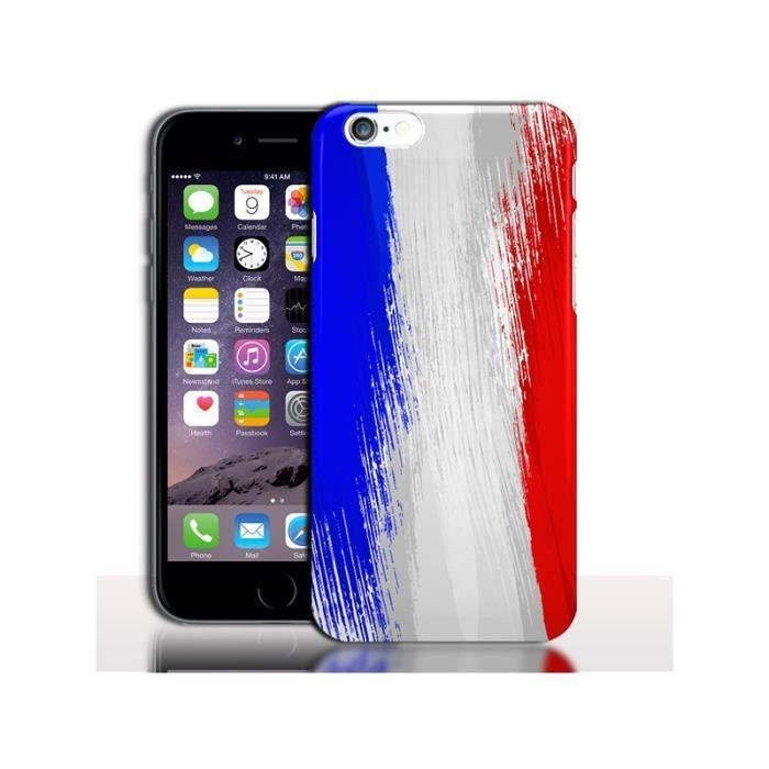 Coque iPhone 6 Plus Drapeau Français - Cdiscount Téléphonie