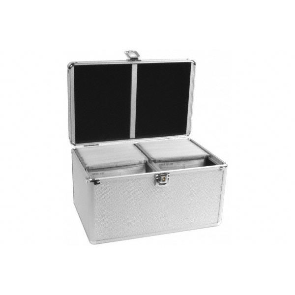 valise de rangement 200 cd look aluminium achat vente. Black Bedroom Furniture Sets. Home Design Ideas