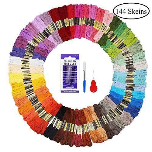 vert /& or 75 m chaque coton fil à coudre pour main//machine Nouveau rouge de qualité