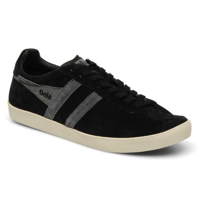 Chaussure Baskets basses Gola Trainer Suede Black Anthracite Homme Pointure 41