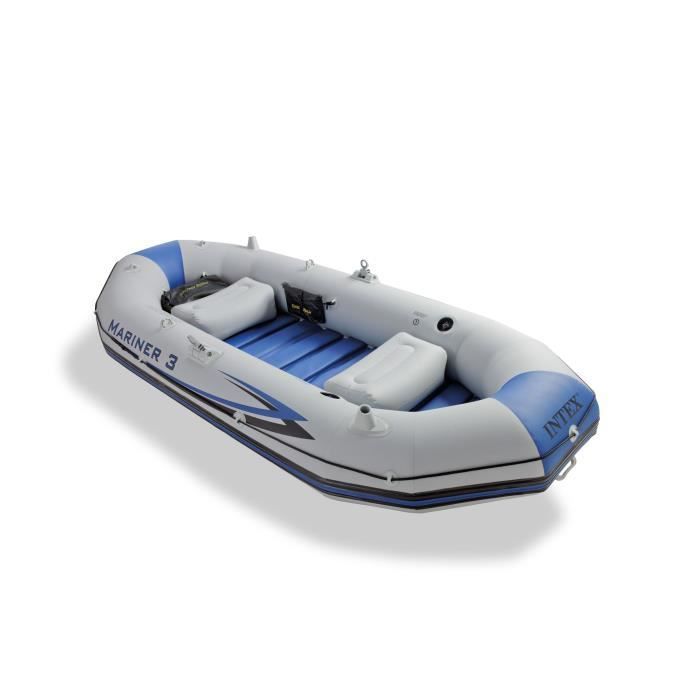 Bateau gonflable 3 places mariner 3 intex achat vente pneumatique zodia - Vente bateau gonflable ...
