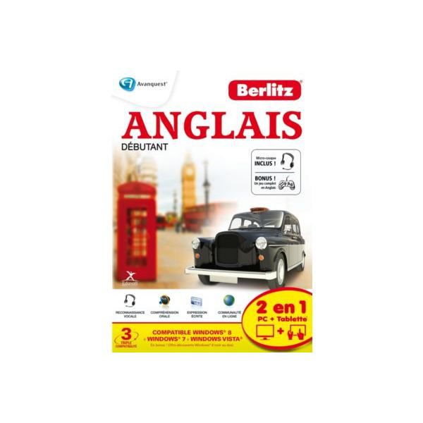 logiciel pc micro application berlitz anglais prix pas. Black Bedroom Furniture Sets. Home Design Ideas