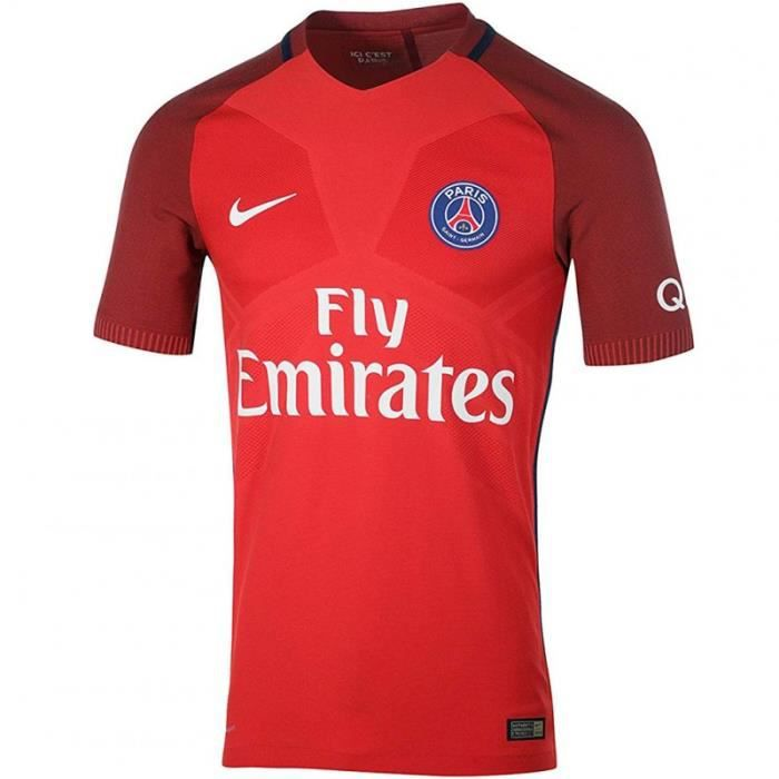 finest selection c7af8 230d7 PSG Vapor Match Homme Maillot Football Rouge Nike