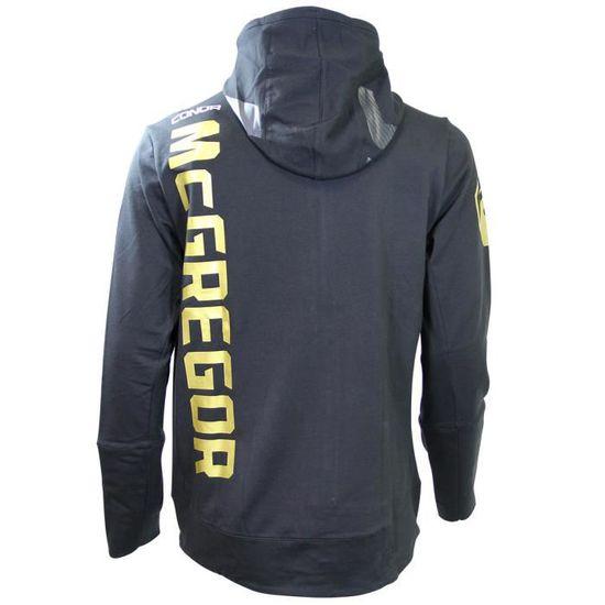 Reebok UFC FK Cmg Walkout Hoodie Sweat /à Capuche Homme Noir 2XL
