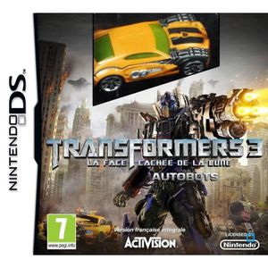JEU DS - DSI TRANSFORMERS DARK OF THE MOON AUTOBOTS BUNDLE / DS
