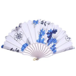 VENTILATEUR Pliage style chinois Fan Fashion Party Dress main