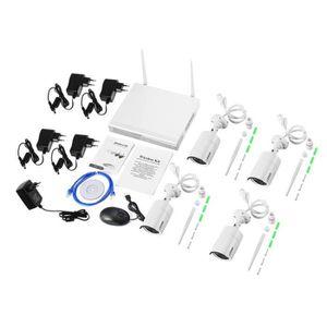 CAMÉRA DE SURVEILLANCE LESHP système de caméra de sécurité sans fil 4CH 7