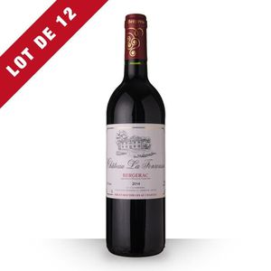 VIN ROUGE 12X Château la Fonrousse 2014 Rouge 75cl AOC Berge