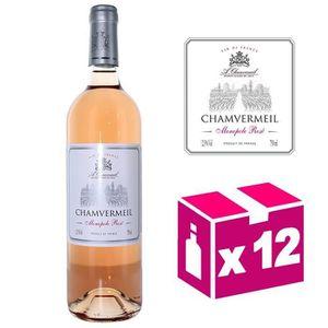 VIN ROSÉ Chamvermeil Monopole rosé 12,5 % Vol. - Vin de Fra