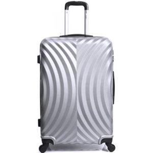 VALISE - BAGAGE Valise Cabine-ABS - Rigide - 50 cm LAGOS-GRIS