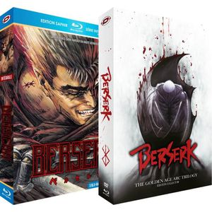 DVD SÉRIE Berserk (Série TV + 3 Films) - Intégrale - Pack 2