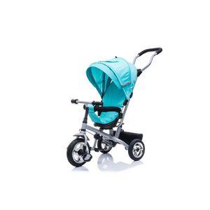 POUSSETTE  Poussette-Tricycle Evolutive Deluxe Bleu Cyan, 84L