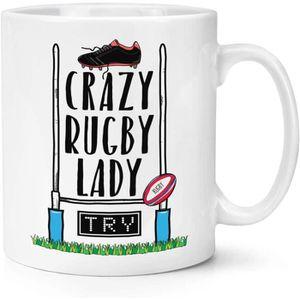 Tasse Cadeau Coupe Du Monde Sport Cadeau environ 311.84 g Afrique Du Sud Rugby Ball éclaboussures Premium 11 Oz