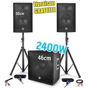 PACK SONO Pack SONO BM Sonic BMS1812 - 2400W - 2 Enceintes 3