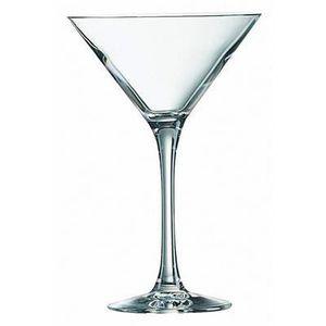 SHAKER - SET COCKTAIL  Verre à pied cocktail 30 cl Cabernet Chef et Somme