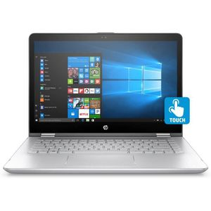 ORDINATEUR PORTABLE HP Pavilion x360 14-ba104nf, Intel® Core™ i5 de 8e