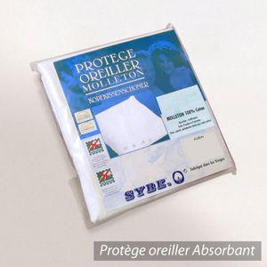 TAIE D'OREILLER Housse de Protection d'oreiller 60x60 cm 100% c...
