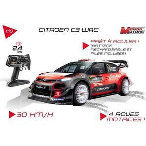 VOITURE - CAMION MONDO Voiture RadioCommandée CITROËN C3 WRC - Eche