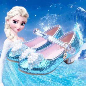 BALLERINE La Reine des neiges Fille Sandales bleu